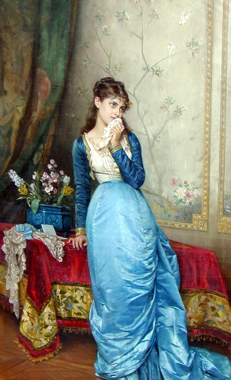 Auguste Toulmouche The Love Letter