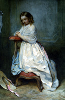 Girl in White Dress (c. 1860)