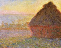 Grainstack / Haystack at the Sunset near Giverny (1890-1891)