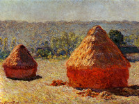 Haystack, End of the Summer, Morning (1891)