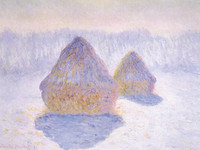 Haystacks in the Snow (1891)