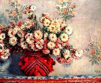 Still-Life with Chrysanthemums (1878)