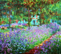 The Artist's Garden at Giverny (1900)