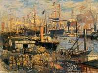 The Grand Quai at Havre (1874)