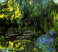 Water-Lily Pond and Weeping Willow (1916-1919)