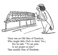 A Book of Nonsense, Old Man of Dumbree