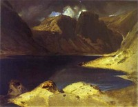 A Lake Scene - Effect of a Storm (1833)