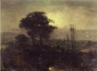 A Moonlight Landscape (1827)