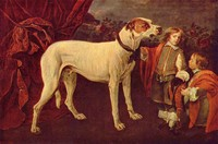 Big Dog, Dwarf and Boy (1652)