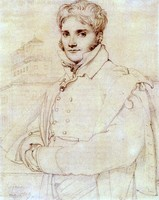 Portrait of Merry Joseph Blondel (1809)