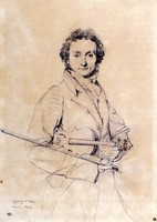 Portrait of Niccolo Paganini (1819)