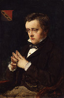 Portrait of Wilkie Collins (1850)