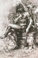 St. John in the Wilderness / Bacchus, study (c. 1508-1515)