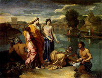 Moses Saved from the Water (1638)