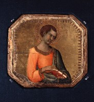 A Saint Holding a Book (1330-1344)