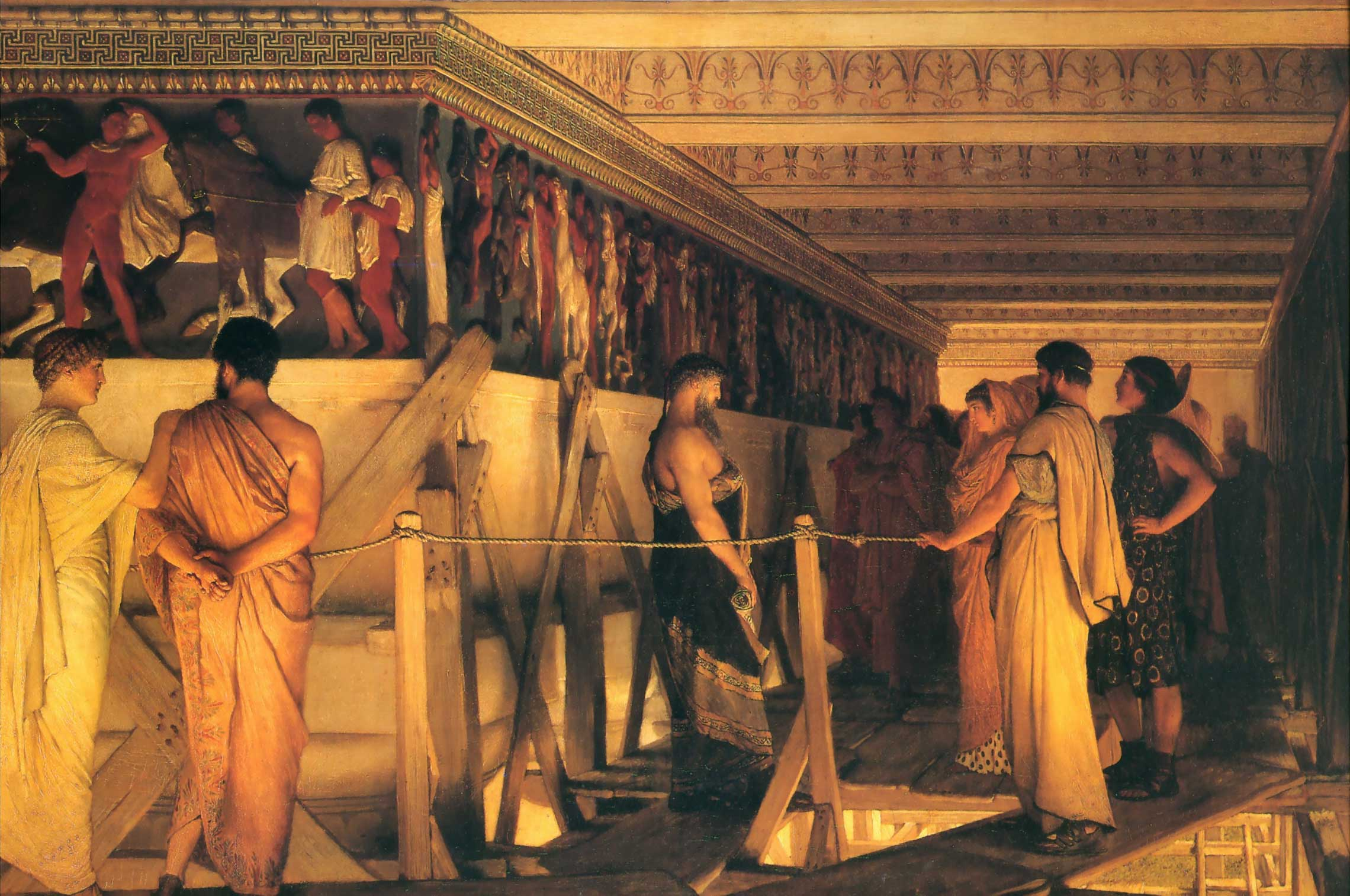 http://www.sightswithin.com/Sir_Lawrence.Alma-Tadema/Phidias_Showing_the_Frieze_of_the_Parthenon_to_his_Friends.jpg