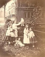 Crowell Children and Friends (1880-1883)