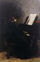 Elizabeth at the Piano (1875)