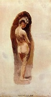 Female Nude (1880-1884)