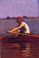 John Biglin in a Single Scull (1874)