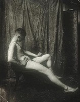 Male Nude Seated (c. 1889)
