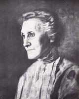 Portrait of Lady in Gray