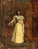 Portrait of Miss Emily Sartain, study (c. 1890-1895)