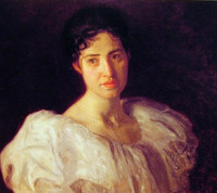 Portrait of Miss Lucy Lewis (1896)