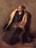 Portrait of Mrs. Hubbard, sketch (c. 1895)