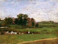 The Meadows, Gloucester, New Jersey, study (c. 1882)