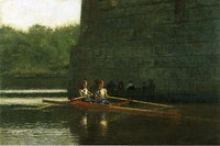 The Oarsmen / The Schreiber Brothers (1874)