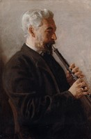 The Oboe Player - Portrait of Benjamin Sharp (1903)