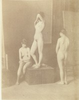 Three Female Nudes (c. 1880)