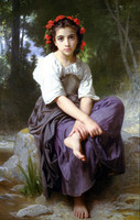 At the Edge of the Brook (1875)