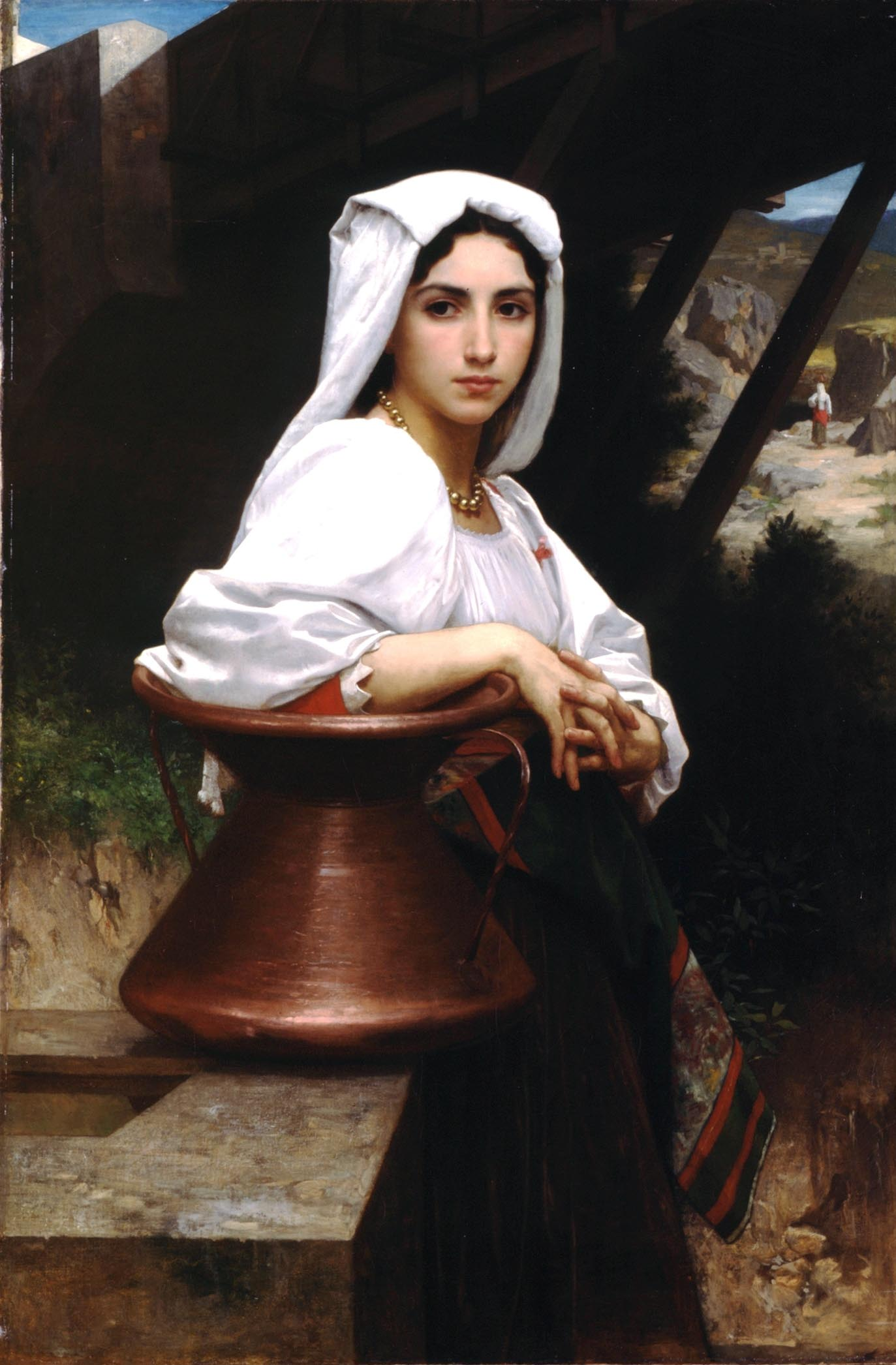 Art William Bouguereau 2 Letoile Lost